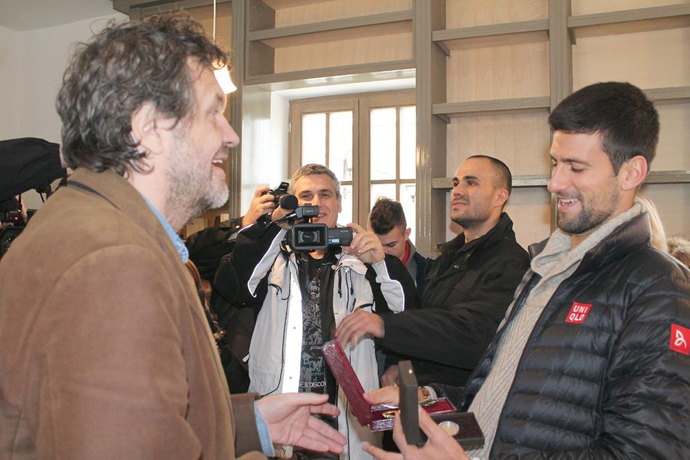 Zlatink i ključ za Novaka Djokovića